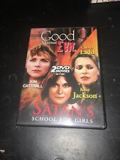 Good Against Evil & Satan's School For Girls - DVD - Ntsc - Excellent