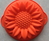 1pcs Single large chrysanthemum silicone cake baking tray mold