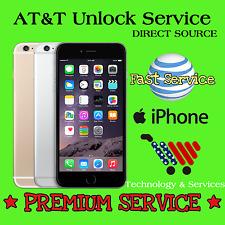 Factory Unlock✅PREMIUM Service✅Code Att AT&T iPhone 4 4S 5 5C 5S 6 6+ CLEAN IMEI