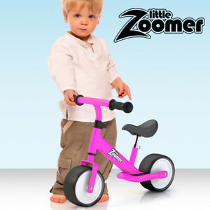 Balance bike with extra wide wheels to make learning fast safe and fun