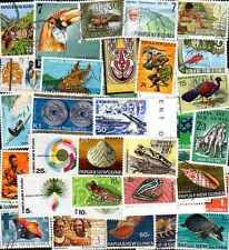 Papouasie Nlle Guinée - Papua New Guinea 300 timbres différents
