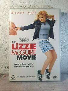 The Lizzie McGuire Movie DVD Hilary Duff - REGION 4 AUSTRALIA