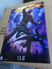 2017 SDCC EXCLUSIVE MARVEL Studio PROMO POSTER Ant-man Wasp Clean RARE
