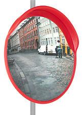 Specchio Stradale di Sicurezza Parabolico Diametro 60cm Infrangibile con Stafe