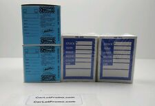 Car Dealer Blue Key Tags 2 Boxes, 2 packs of Stock Stickers