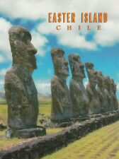 "*Postcard-""Easter Island Chili.Statues"" (Z3)"