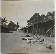 Afrique Potérie Gandjicolo Congo Photo NE2 Plaque Stereo Vintage ca 1910