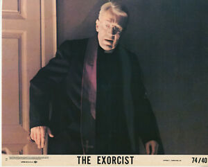 THE EXORCIST (1974) • 8X10 LOBBY CARD #2 • Max Von Sydow as Father Merrin