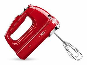 KitchenAid KHM7210QHSD 100 Year Limited Edition Queen of Hearts Hand Mixer, 7Spd