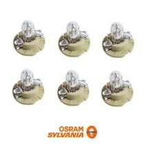 6 OEM OSRAM Instrument Panel Light Bulb For BMW Mercedes Porsche 910141 000000