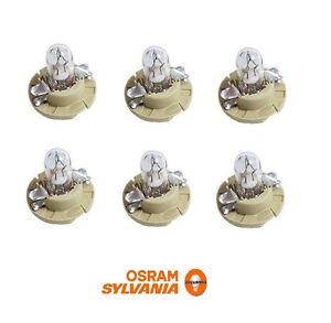 6 OEM OSRAM Instrument Panel Light Bulb For BMW Mercedes Porsche 910141 000000