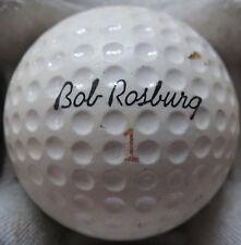 (1) BOB ROSBURG SIGNATURE LOGO GOLF BALL ( RAM MADE IN USA CIR 1967) #1