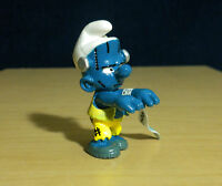 Smurfs 20546 Halloween Frankenstein Smurf Zombie Figure Vintage Toy PVC Schleich