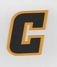 2013/2014 CAPTAIN C PATCH FOR BOSTON BRUINS JERSEY TWO COLORS