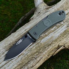 Ka-Bar Dozier Forest Green Handle Folding Lockback Knife 4062FG
