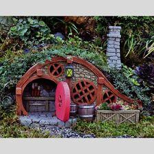 Miniature Garden Red Root Bungalow Hill Home Glow Lantern Hobbit House GO 17252