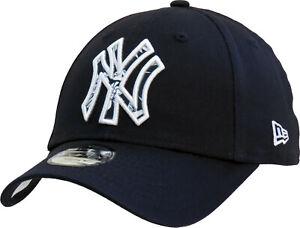 NY Yankees New Era 940 Kids Infill Navy Baseball Cap (Age 2 - 10)