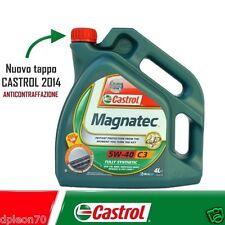 Olio CASTROL MAGNATEC 5W40 C3 Motore SINTETICO AUTO DIESEL BENZINA 4 LT Litri