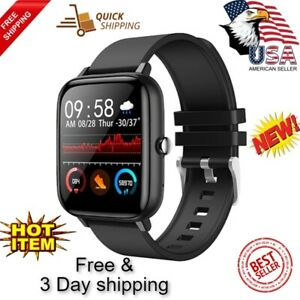 For Android IOS Smart Watch Spots Fitness Tracker Bluetooth Waterproof Bracelet