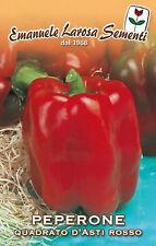 350 Semi/Seeds PEPERONE Quadrato D'Asti Rosso