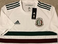 WC 2018 Adidas Mexico White Climachill Away Player Issue Version Jersey Russia L