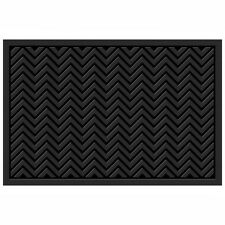 Mohawk Home Heavy Duty Recycled Rubber Indoor Outdoor Use Rectangular Door Mat