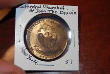New York Cathedral of St John The Divine Medal