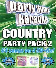 Party Tyme Karaoke - Country Party Pack 2 (64-song Party Pack) [4 CD]