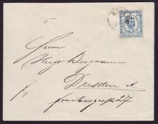 MONTENEGRO 1891 COVER TO GERMANY