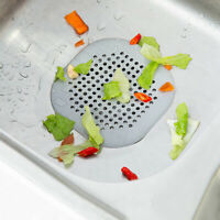 Kitchen Bathroom Waste Sink Drain Strainer Hair Filter Net Catcher Stopper Cover
