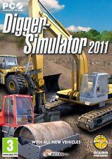 Digger Simulator 2011 (PC CD) Nouveau & Scellé