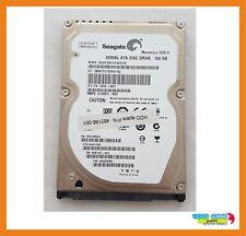 """Disco Duro Seagate 160GB 7200RPM 2.5"""" Hdd Sata ST9160412AS/9HV14C-022/515657-003"""