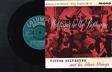 "VICTOR SILVESTER & SILVER STRINGS Waltzing In The Ballroom #6 7"" VINYL SEG 8150"