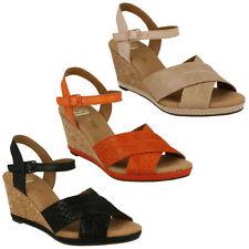 Clarks Casual Wedge Mid Heel (1.5-3 in.) Women's Sandals & Beach Shoes