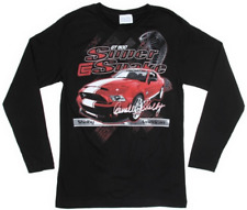 2010-2014 Shelby GT500 SuperSnake Long Sleeve T-Shirt XL Red Logo NOS Shelby !