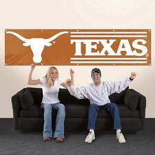 Texas Longhorns 8 X 2 Heavy duty Nylon Banner. Eight Feet Long X Two Feet