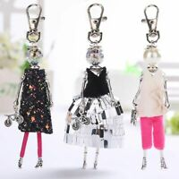 Women Doll Bag Cute Keychain Handmade Hot Car Pendant key Ring Fashion Jewelry