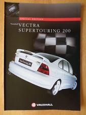 VAUXHALL VECTRA SUPERTOURING 200 Special Ltd Edition 1997 UK Mkt Sales Brochure