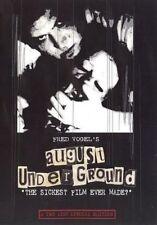 AUGUST UNDERGROUND DVD RARE ~ TOETAG Gore FRED VOGEL ~ Extreme HORROR NEW