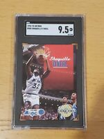 1992 Skybox #382 Shaquille O'Neal SGC 9.5 Newly Graded RC Rookie PSA BGS