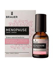 BRAUER Menopause oral spray 20ml hot flushes
