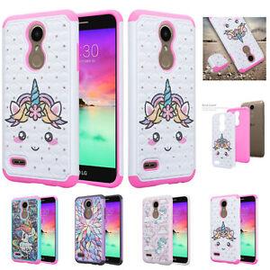For LG L413/LG 413DL Slim Glitter Rhinestone Crystal Bling Cover Case