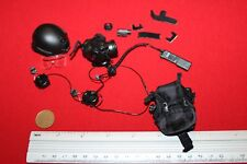 DID DRAGON IN DREAMS 1:6TH SCALE LAPD SWAT HELMET, MASK & RADIO FROM DRIVER