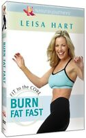 BURN FAT FAST - LEISA HART - DVD Region All - Fit to the Core