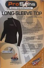 Pro Skins All Seasons Base Layer Wicking  Motorcycle Long Sleeve Top PR007 T