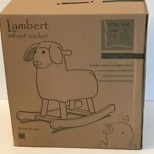 Lambert Infant Rocker Toy Bouncer Seat ~ New In Box ~ 9m+