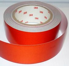 3M Reflective Red Safety Tape Class 2 Adhesive Backed 50mm X 5 Metres