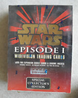 Topps Star Wars Episode I Widevision Trading Cars Sealed Full Box 36 Packs LOOK