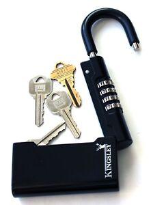 Kingsley Guard-a-Key Key Storage Lock-Real Estate Lock Box, Realtor Lockbox USED