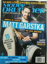 Modern Drummer April 2017 Matt Garstka The Soul Machine FREE SHIPPING sb
